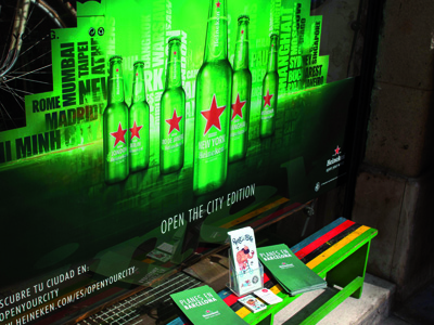 'Open your City' Heineken
