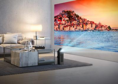 LG Proyector TV 4K