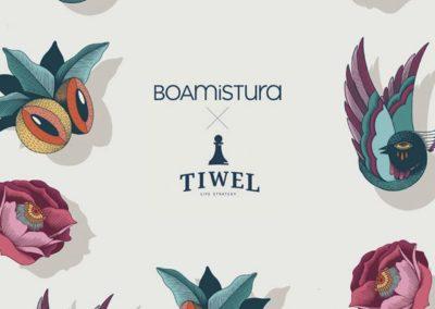 Tiwel x Boamistura