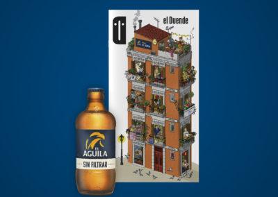 Cerveza El Águila y la Revista El Duende a domicilio